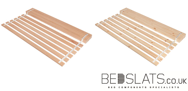 Set of Pine Slats and Set of Beech Slats