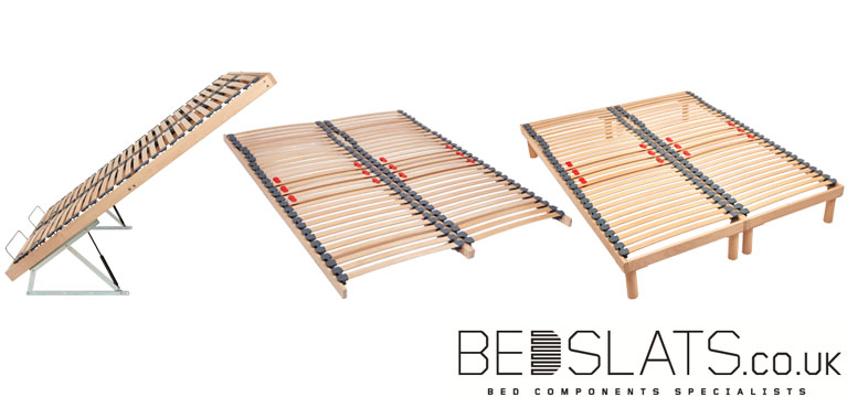 Three Types of Slatted Bed Bases